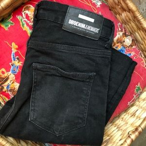 Dr denim black skinny jean high waist